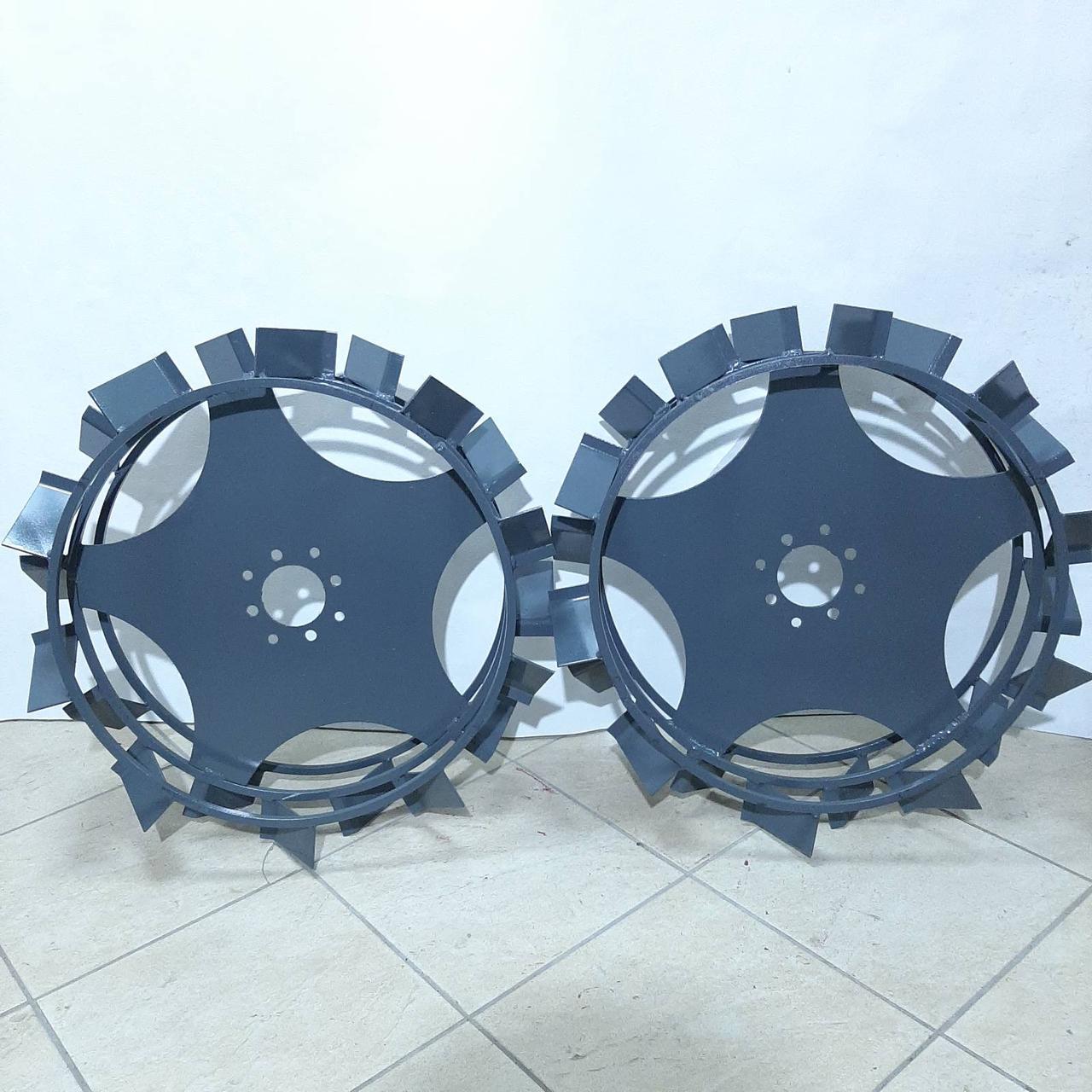 Грунтозацепи підвищеної тяги Булат 600х150 мм, для всіх типів мотоблоків