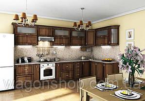 """Кутова кухня """"Платинум 3850 x 1800"""" Garant"""