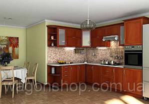 "Кутова кухня ""Контур-2 2100 x 3000"" Garant"