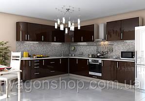"""Кутова кухня """"Гламур 2500 x 3600"""" Garant"""