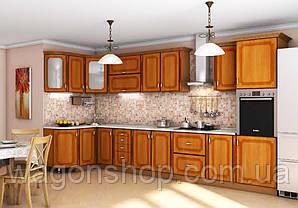 """Кутова кухня """"Платинум 1400 x 4050"""" Garant"""