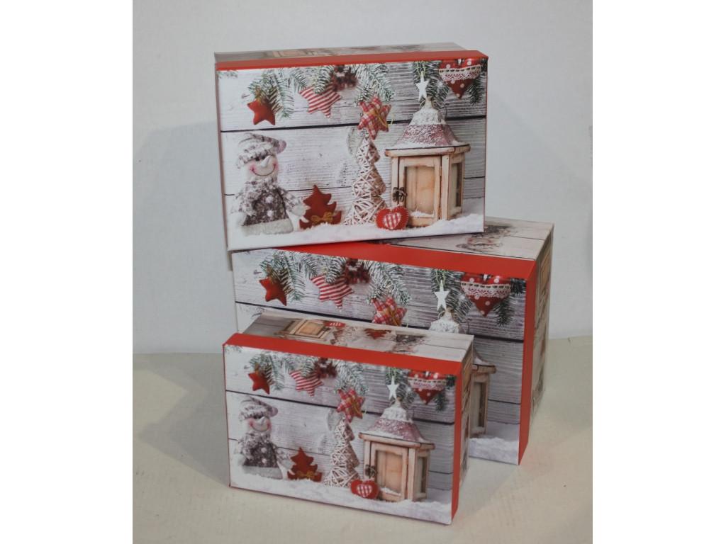 Набор коробок из 3 шт. 5057-3