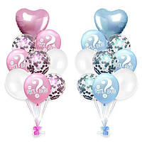 Гендерный набор от Hstyle воздушных шаров Hstyle Мальчик или девочка (PL369L)