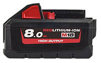 Акумулятор HIGH OUTPUT MILWAUKEE, M18 H8 (8Aг)