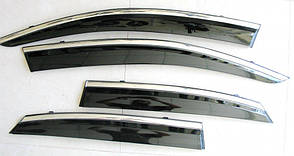 Lexus NX ветровики дефлекторы окон ASP с молдингом нержавеющей стали / sunvisors