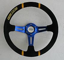Кермо ASP Drifting синій замшевий