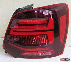 Volkswagen Polo Mk5 оптика задняя стиль Audi Q2