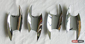 Lexus RX200 накладки хром под дверные ручки тип W