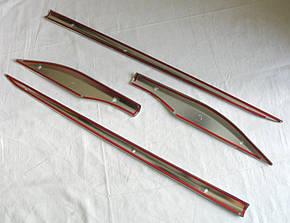 Toyota C-HR молдинги дверные хром ABS малые тип W, фото 2