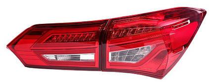 Toyota Corolla E170/ Altis оптика задняя LED красная BENZ стиль , фото 2