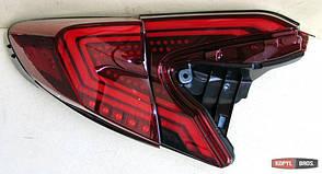 Toyota C-HR LED оптика задняя красная