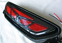 Toyota C-HR LED вставка центральная в задний бампер тип CP, фото 2