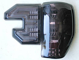 Ford Ranger T6 T7 задние тюнинг фонари LED черные Raptor