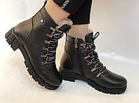 Натуральный мех. Люкс качество. Женские зимние ботинки. Натуральная кожа .Турция. Р.37-40., фото 2