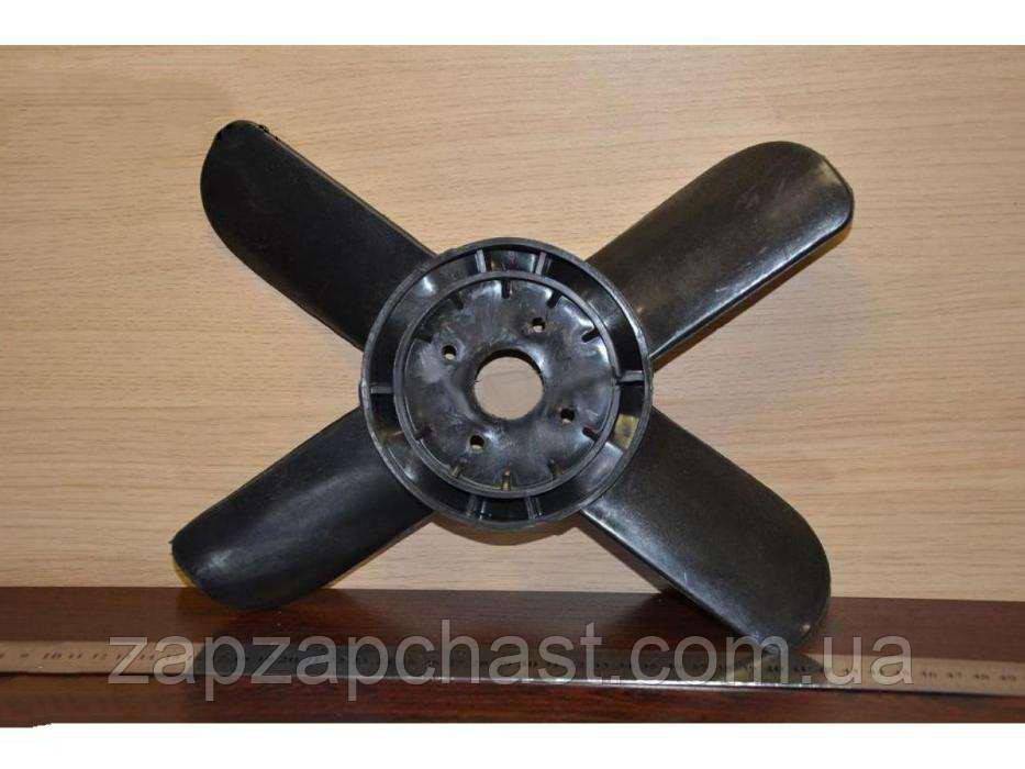 Крыльчатка вентилятора 4-х лопастная на Москвич (М-412, 2140)