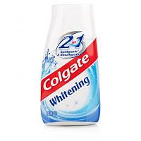 Зубная паста с ополаскивателем Colgate Whitening 2 в 1