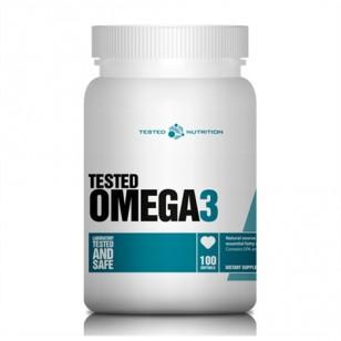 Omega 3 Tested Nutrition 100 caps, фото 2