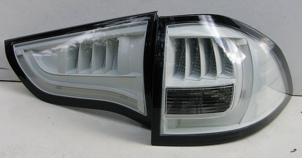 Mitsubishi Pajero Sport оптика задняя LED белая