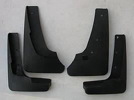 Nissan X-trail T31 брызговики колесных арок передние и задние полиуретановые