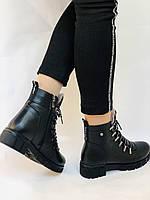 Натуральный мех. Люкс качество. Женские зимние ботинки. Натуральная кожа .Турция. Р.37-40., фото 3
