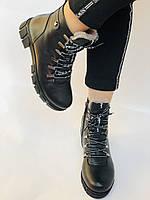 Натуральный мех. Люкс качество. Женские зимние ботинки. Натуральная кожа .Турция. Р.37-40., фото 5
