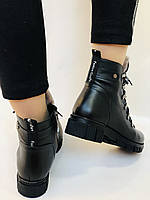 Натуральный мех. Люкс качество. Женские зимние ботинки. Натуральная кожа .Турция. Р.37-40., фото 8