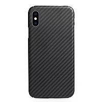 Карбоновый чехол для Apple iPhone X/XS Karbon case, фото 1