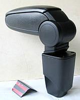 Peugeot 206 подлокотник ASP черный виниловый