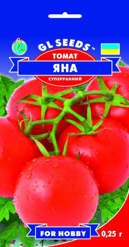 Семена Томата Яна (0.25г), For Hobby, TM GL Seeds