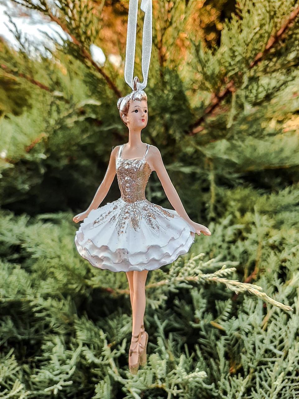 """Елочная игрушка """"Балеринка"""""""