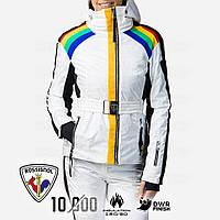 Горнолыжная куртка JCC x Rossignol W RAINBOW M 2021 белая (RLJWJ28-100-M), фото 1