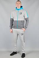 Зимний спортивный костюм Nike 5635 Светло-серый