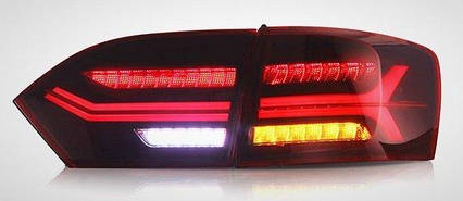 Volkswagen Jetta Mk6 оптика задняя светодиодная LED красная A6, фото 2