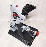 Болгарка с регулировкой оборотов Craft-Tec PXAG-225E 125/1200 + стойка для болгарки, фото 10
