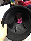 Мужская кепка из фетра из натуральной шерсти, фото 3