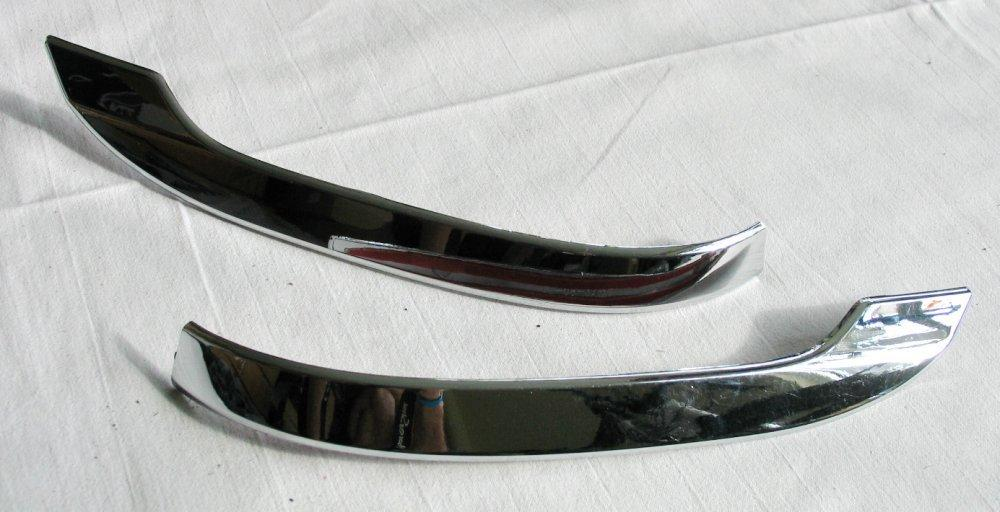 Skoda Kodiaq хром накладки на зеркала малые