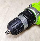 Аккумуляторный шуруповерт Белорус МТЗ ДА NEW 12V 2 Ач, фото 6