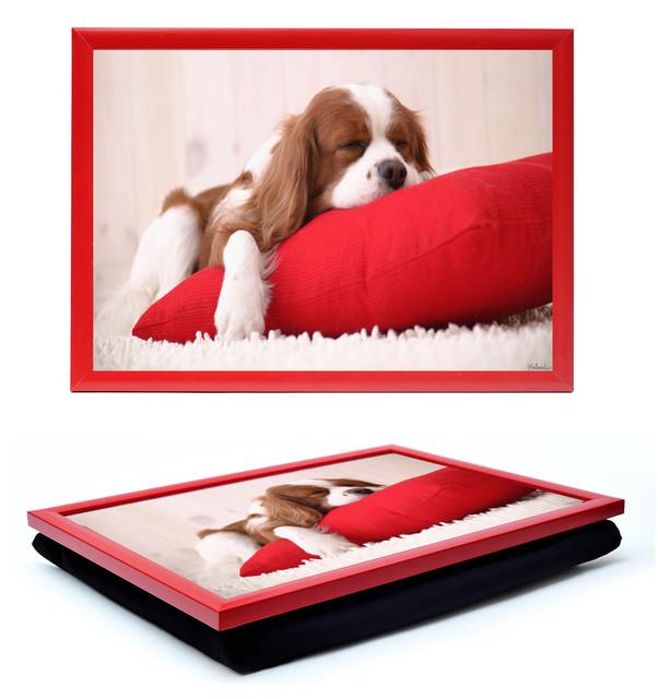 Вы когда нибудь пользовались столиком подносом на подушке?