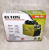 Комплект: Сварочный аппарат Eltos ММА-340 + болгарка + маска хамелеон, фото 3