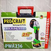 Аккумуляторная болгарка Procraft PWA 216 21v, фото 2