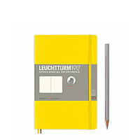 Блокнот Leuchtturm1917 М'яка обкладинка Paperback B6 (12,5х19 см) Лимонний Чисті аркуші (358304), фото 1