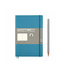 Блокнот Leuchtturm1917 М'яка обкладинка Paperback B6 (12,5х19 см) Льодяний синій Чисті аркуші (358313), фото 1