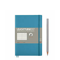 Блокнот Leuchtturm1917 М'яка обкладинка Paperback B6 (12,5х19 см) Льодяний синій Лінія (358311), фото 1