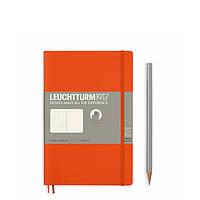 Блокнот Leuchtturm1917 М'яка обкладинка Paperback B6 (12,5х19 см) Помаранчевий Крапка (358300), фото 1