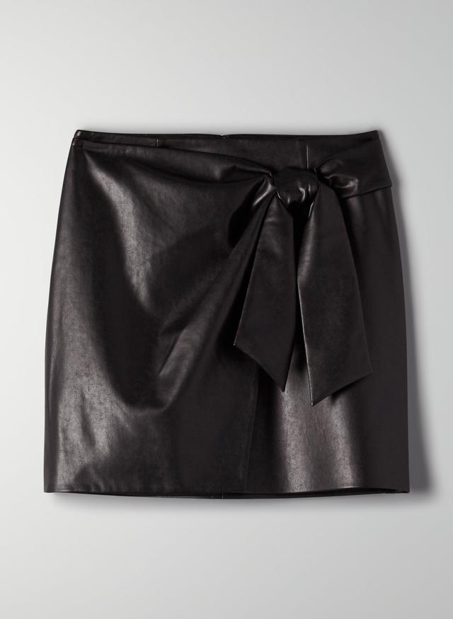 юбка женская экокожа