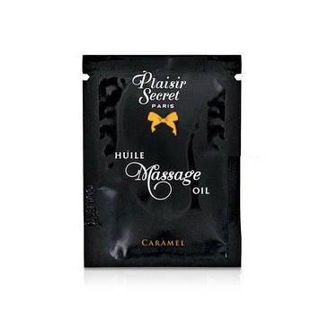 Пробник масажного масла Plaisirs Secrets Caramel (3 мл) SO1210 код