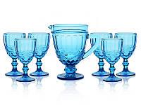 Набор для сока и воды LeGlass 7 пред 049-041