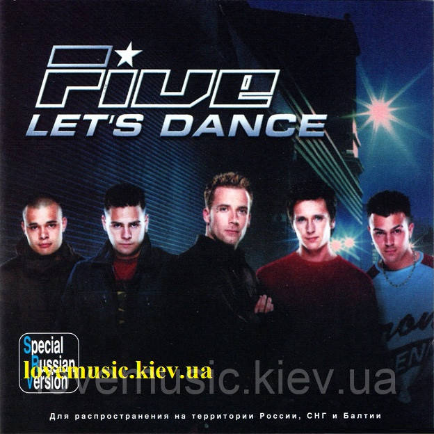 Музичний сд диск FIVE let's dance (2002) (audio cd)