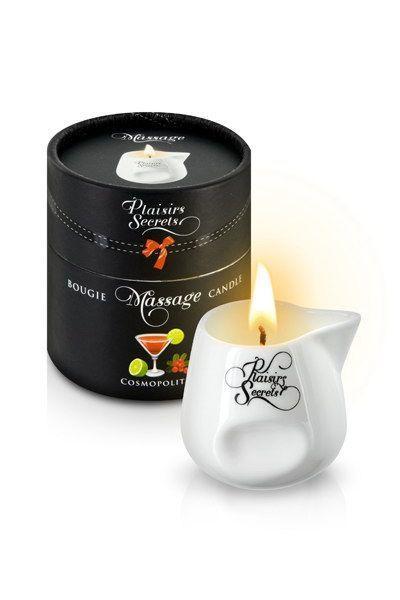 Массажная свеча Plaisirs Secrets Cosmopolitan (80 мл) подарочная упаковка, керамический сосуд SO1854 код