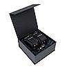 Премиум поножи LOVECRAFT черные, натуральная кожа, в подарочной упаковке SO3296, фото 4